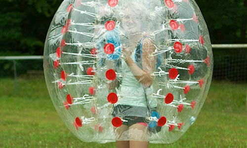 Bubbleball Equipment